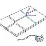 ダンボールや新聞の縛り方 – 古紙回収や引越し後の処分に!一重でしっかり「キの字結び」