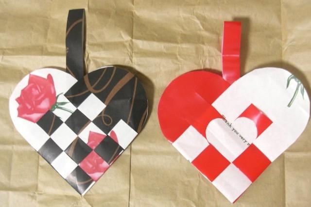 折り紙の いろいろな折り紙の作り方 : 折り紙】ハートのクリスマス ...