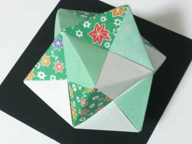 折り紙の:折り紙のくす玉の作り方-snalime.com