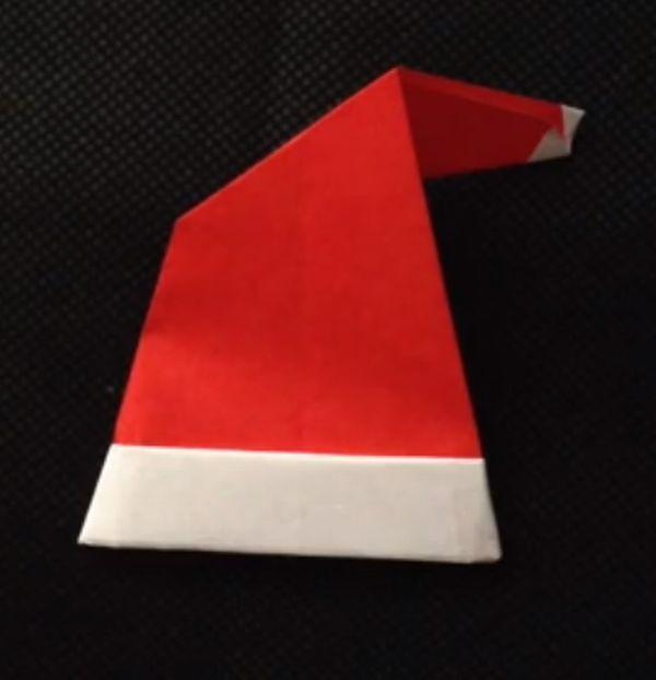 ハート 折り紙:サンタ 帽子 折り紙-snalime.com