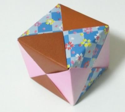 折り紙立方体2
