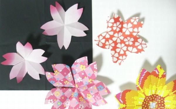簡単 折り紙 折り紙 飾り付け : snalime.com