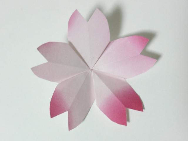 ハート 折り紙 折り紙桜の作り方 : snalime.com