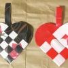 【折り紙】ハートのクリスマスオーナメント「ユールヤータ」の作り方3種【デンマーク】